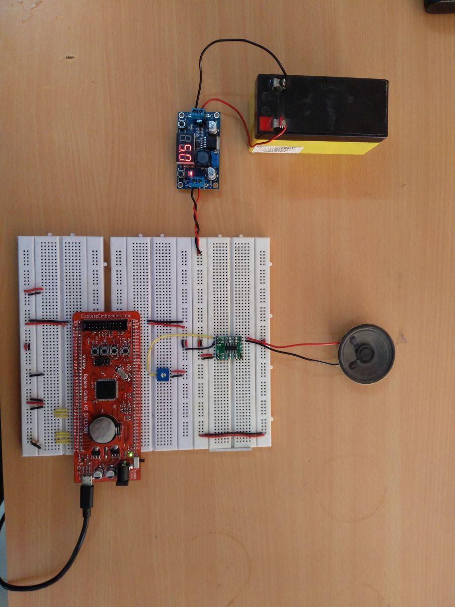 usb #audio Using LPC1768 Prototype | ARM Tutorial & Projects | Usb