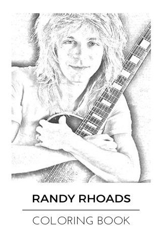 Randy Rhoads Coloring Book: Legendary Guitarist and Ozzy
