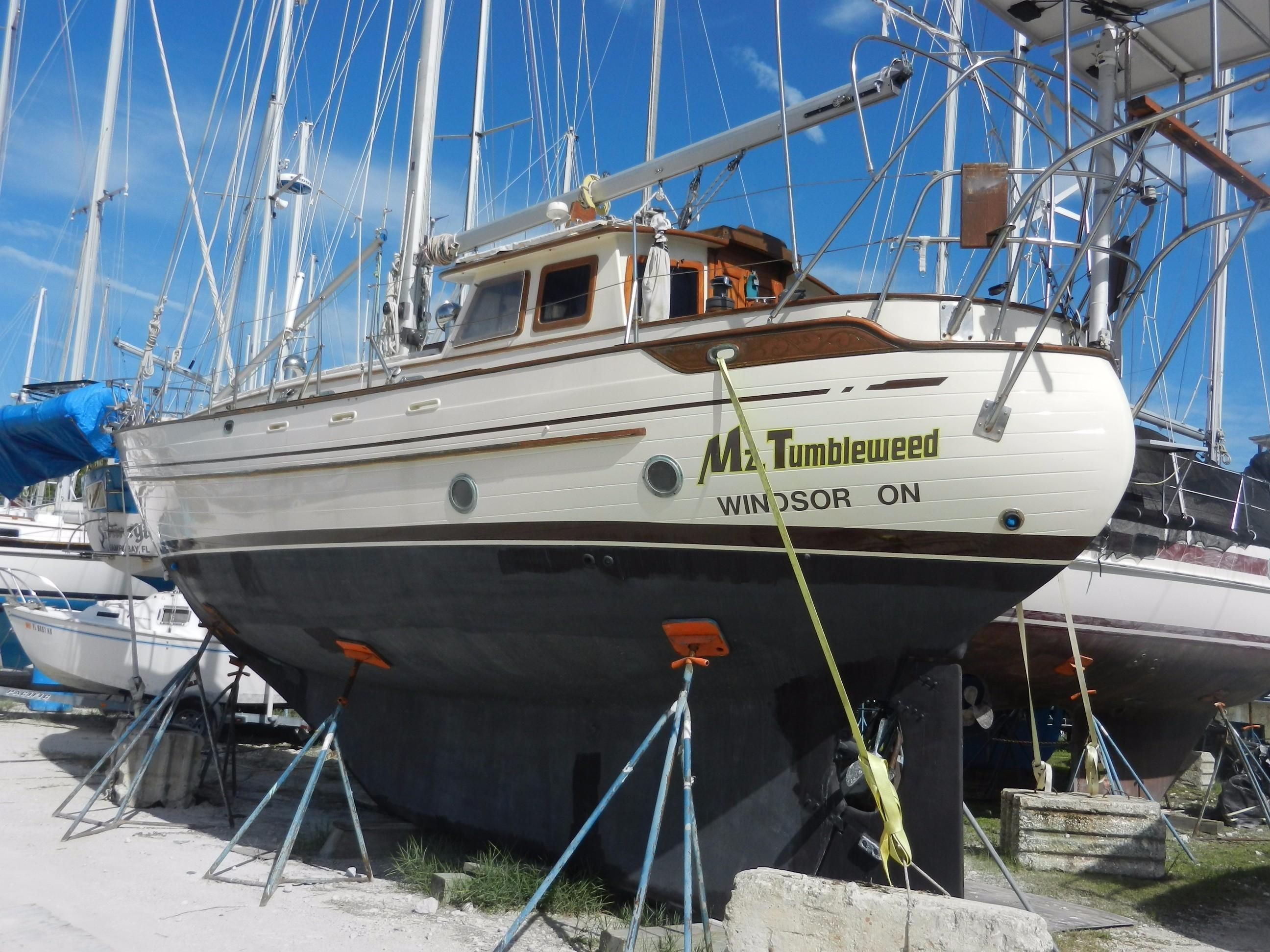1983 Tayana Pilothouse Sail Boat For Sale Www Yachtworld