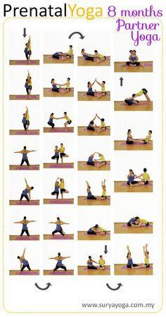 my surya yoga baby prenatal yoga practice  8 months