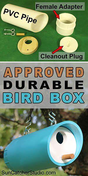 Bird Box Plans (Approved diy PVC Birdhouse Design)