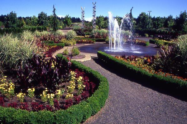 the oregon garden in silverton very beautiful - The Oregon Garden
