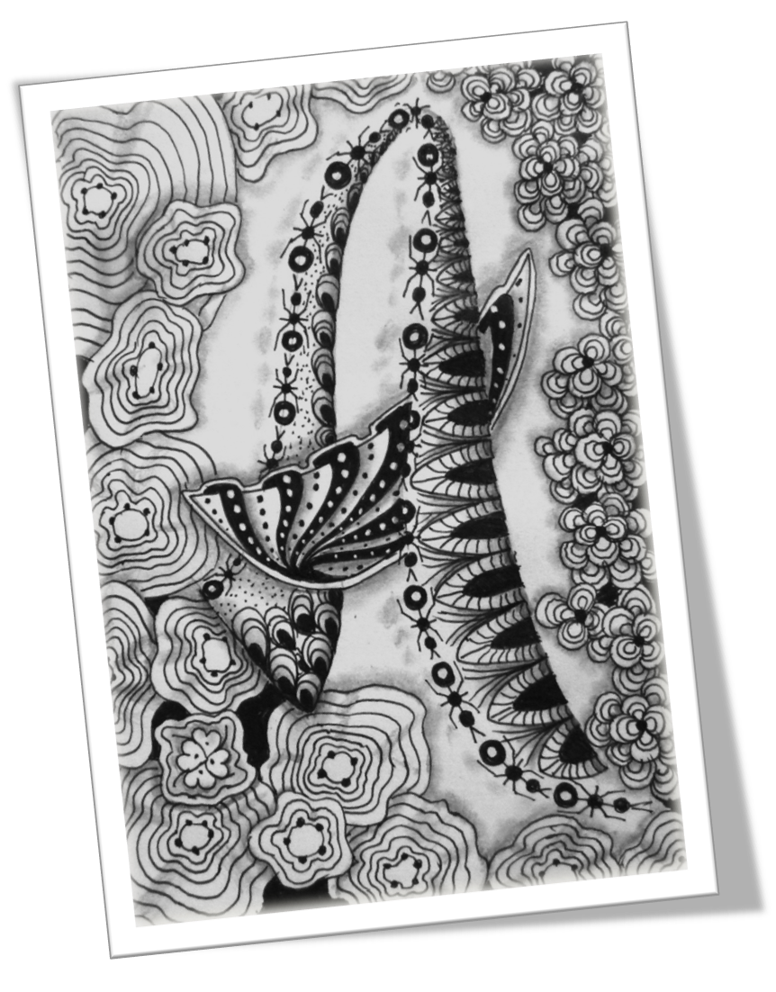 Abc of zentangle a