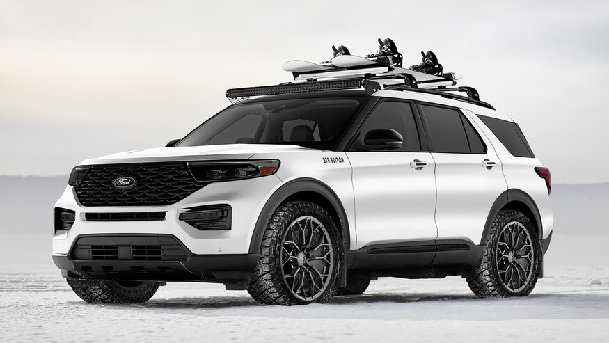 Ford Explorer Escape Custom Suvs For Sema Range From Mild To Wild In 2020 Ford Explorer 2020 Ford Explorer Ford Suv