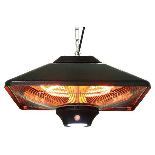 Energ Hanging Electric Infrared Heater Black Outdoor Heaters Patio Heater Infrared Heater