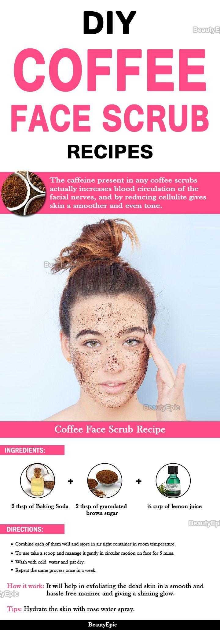 12 diy coffee face scrub recipes to get beautiful skin
