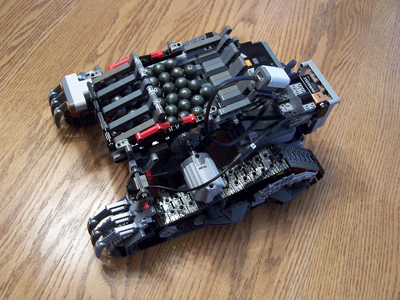 Ogre A Lego Nxt Based Tank Lego Nxt Lego Technic Lego