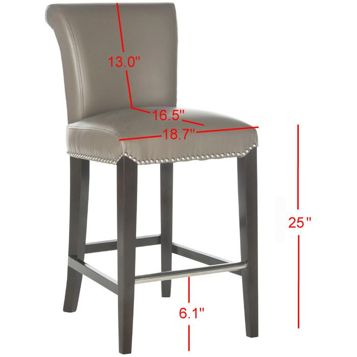 "You'll love the Mercer 25.9"" Bar Stool at Wayfair - Great Deals on all Furniture  products with Free Shipping on most stuff, even the big stuff."