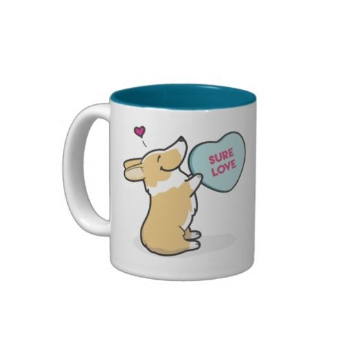 Valentine's 2015-Pembroke Corg - Coffee Mug --- 20% Off All Orders | 30% Off T-Shirts & Mugs!   LAST DAY!   Use Code: LOVETEESMUGS