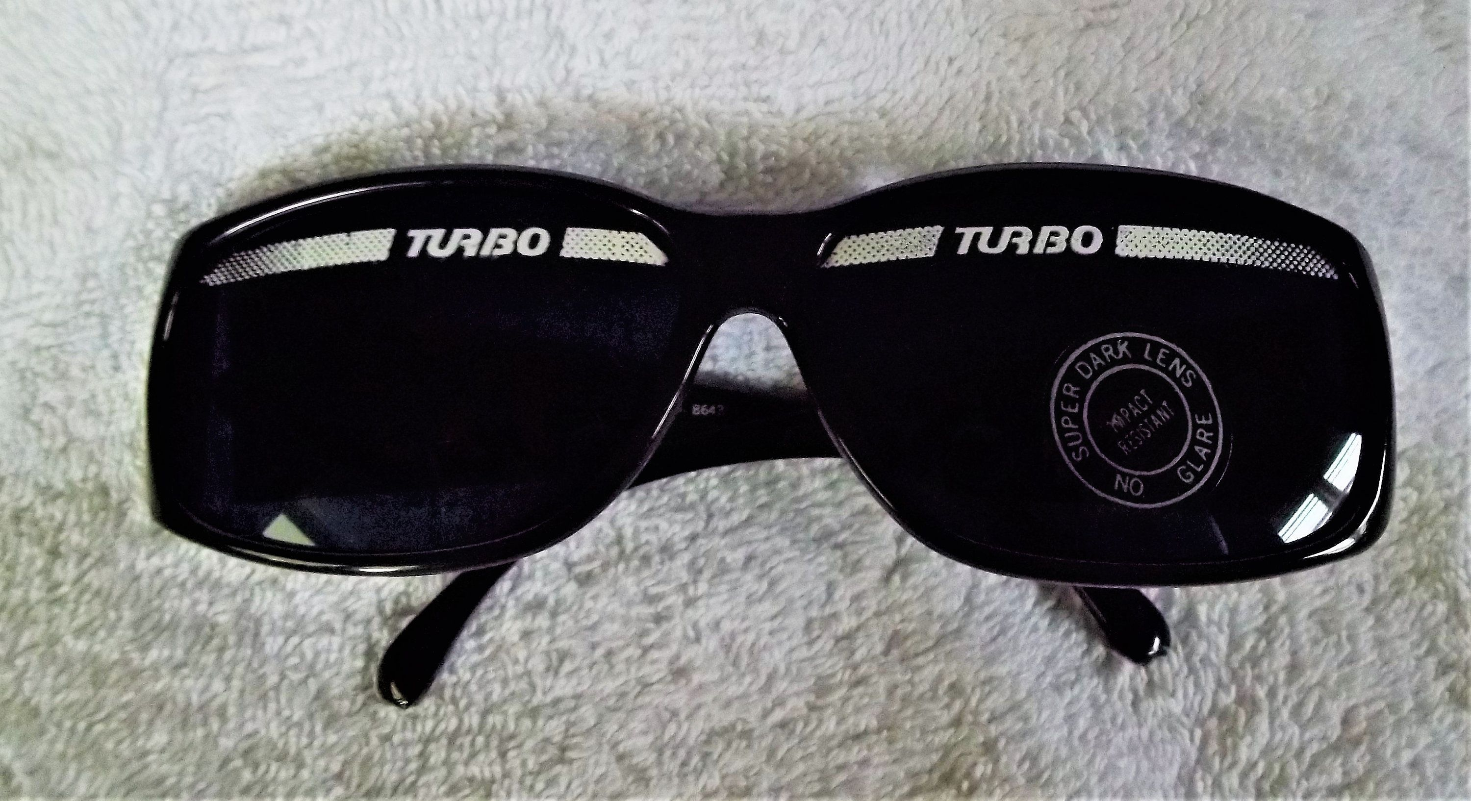 24a0db4587 Rare Vintage Turbo Sunglasses