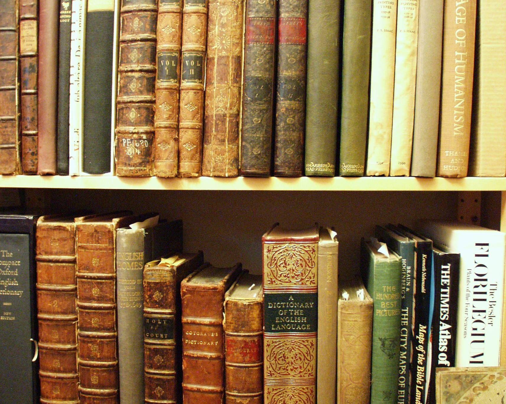 Old Books I Love The Well, I Just Like Big
