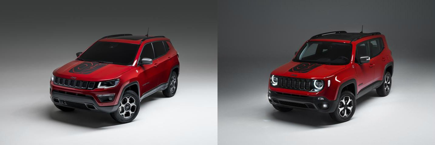 Plug In Hybrid Versions Of The Jeep Compass Jeep Renegade Were