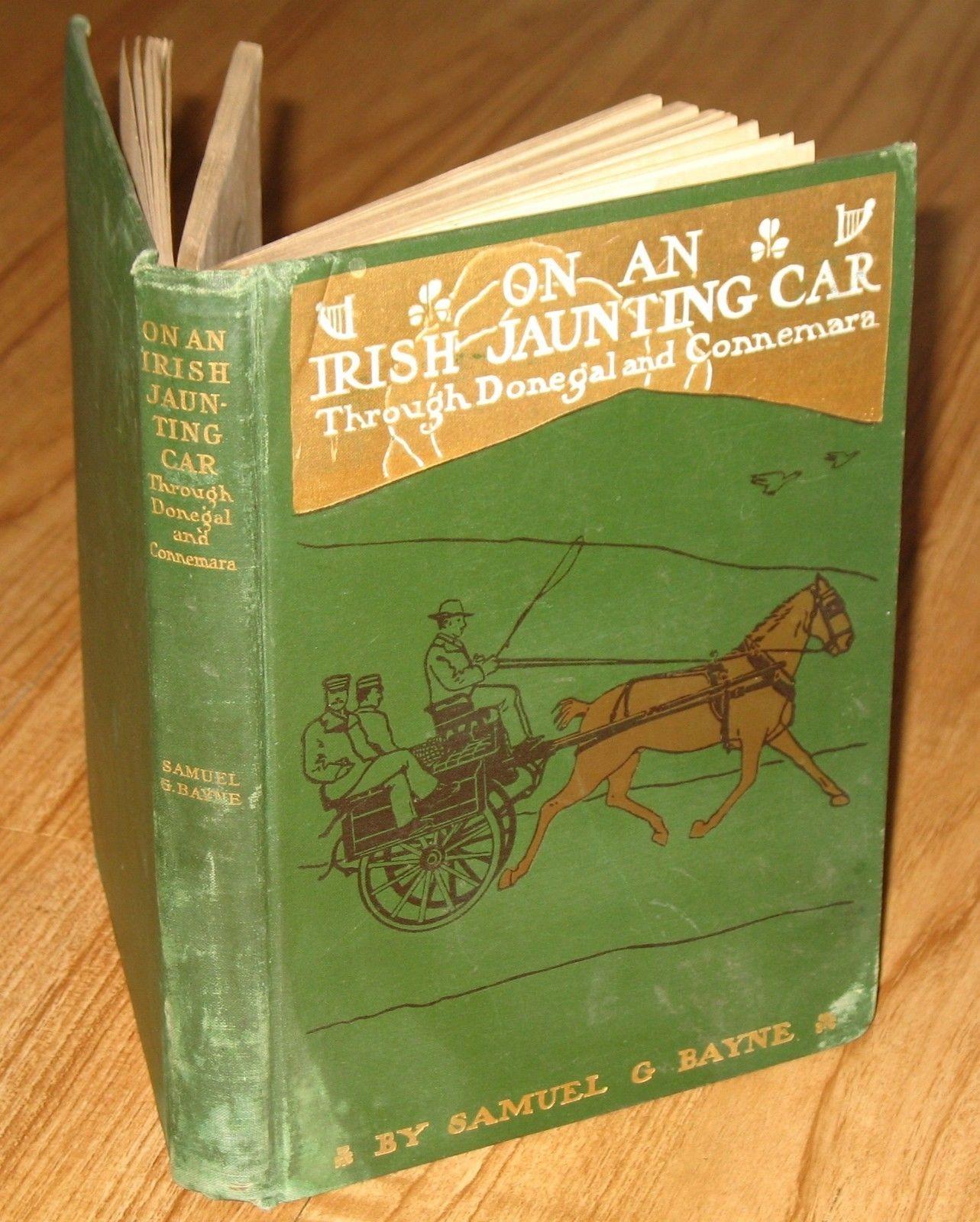 1902 on An Irish Jaunting Car Through Donegal Connemara 1st Edition s G Bayne | eBay