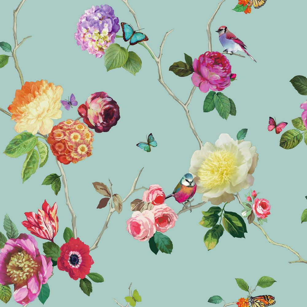 Charmed Teal / Multi wallpaper by Arthouse | Wallpapers | Pinterest ...