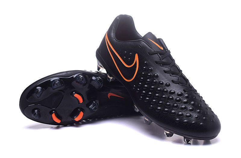 4e1ebe528c45 Black Total Crimson Nike Magista Opus II FG Cleats