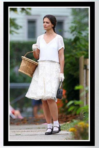 "Buy it: Katie Holmes' Tulle Skirt – ""Miss Meadows"" Set"
