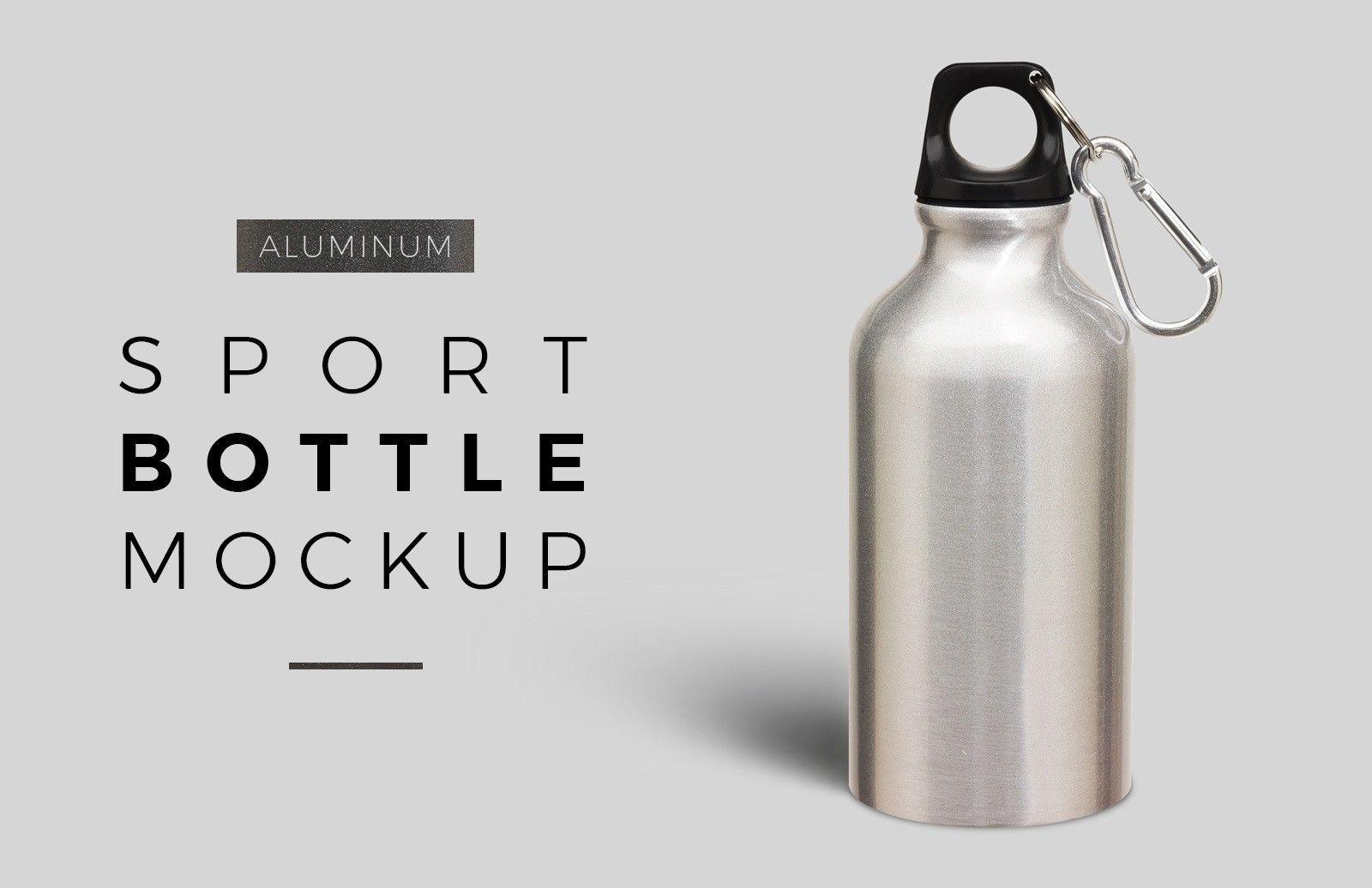Download Aluminum Sport Bottle Mockup Bottle Mockup Sport Bottle Bottle