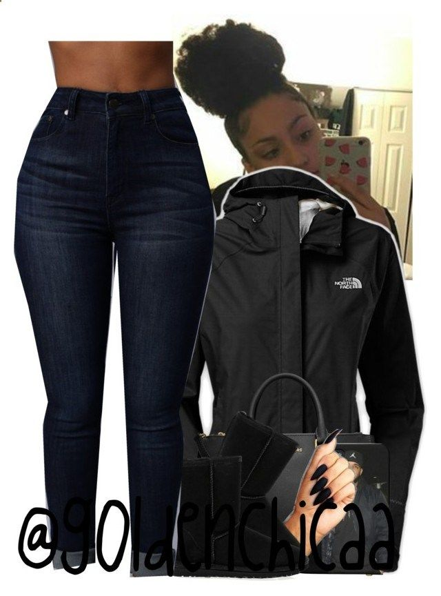 Brrr...❄️ by g0ldenchicaa ❤ liked on Polyvore featuring The North Face, MICHAEL Michael Kors and UGG Australia