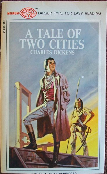 A Tale Of Two Cities Author Charles Dickens The Shadow Of The Guillotine Along The Paris