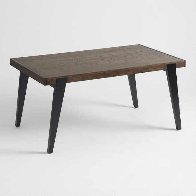 Two Tone Wood Dominick Extension Dining Table Extension Dining