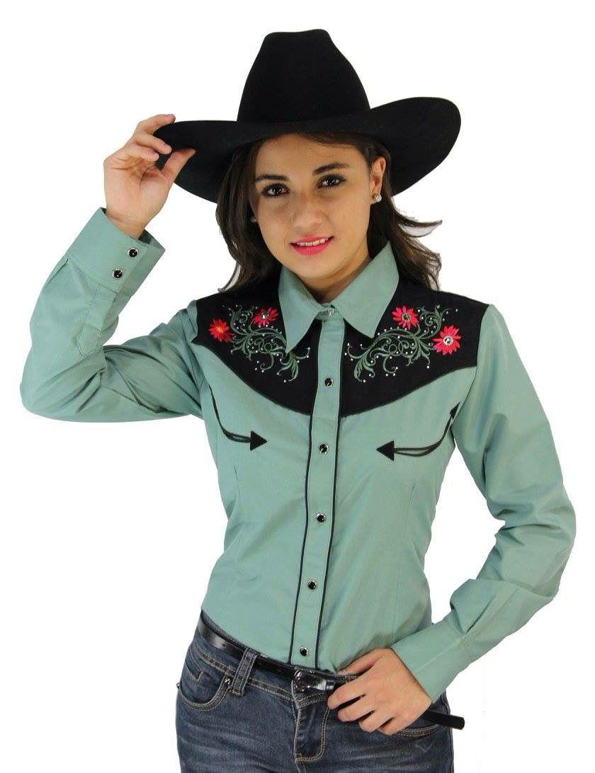 b14973560 Camisa vaquera Poulette