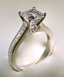 synthetic diamond engagement ring lab created no blood diamonds