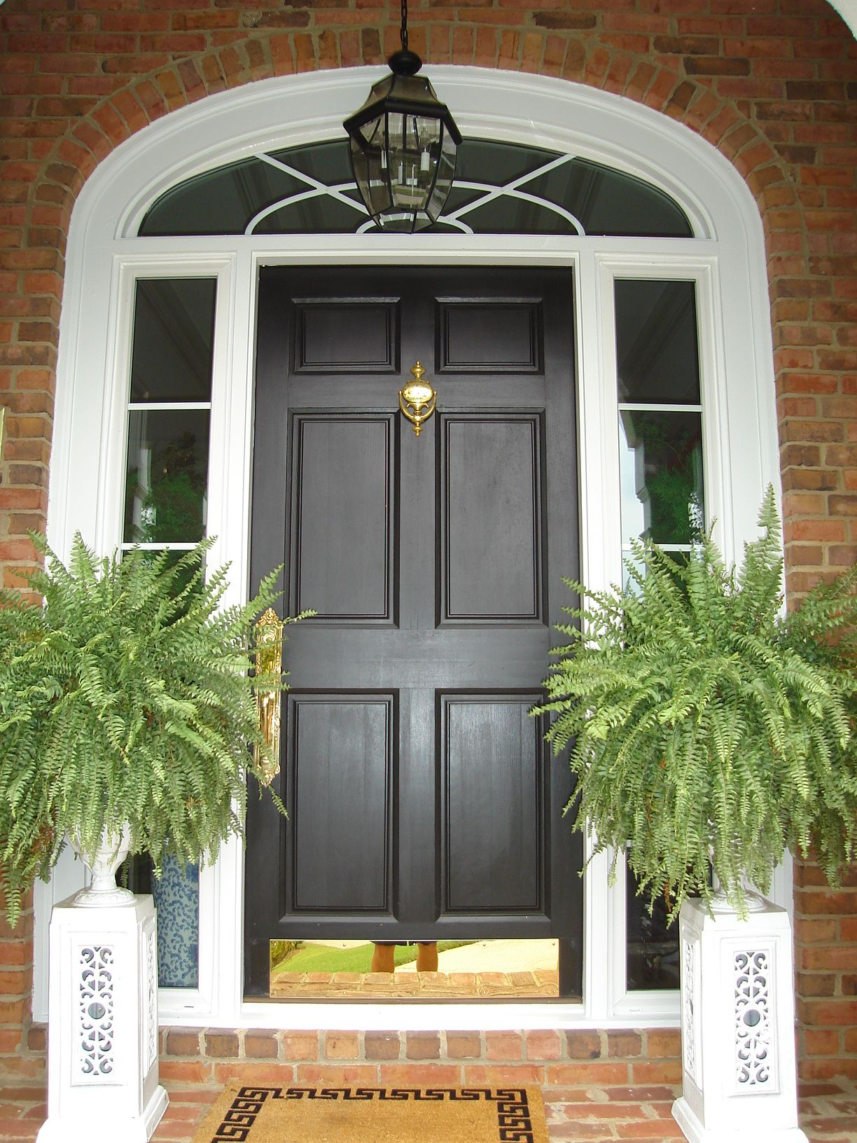 Fiberglass Front Entry Replacement Door, Sidelites U0026 Transom   Alpharetta,  ...