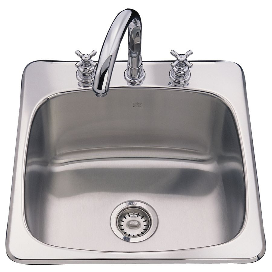 Shop Franke Usa 20 Gauge Single Basin Drop In Or