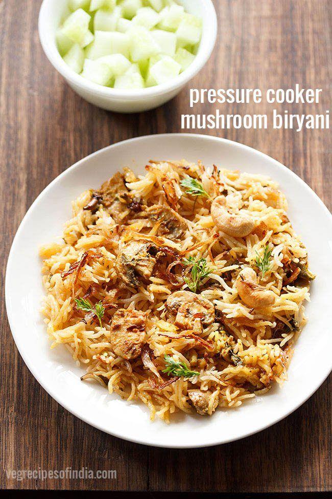 Mushroom biryani recipe in pressure cooker recipe biryani recipe mushroom biryani recipe in pressure cooker forumfinder Images