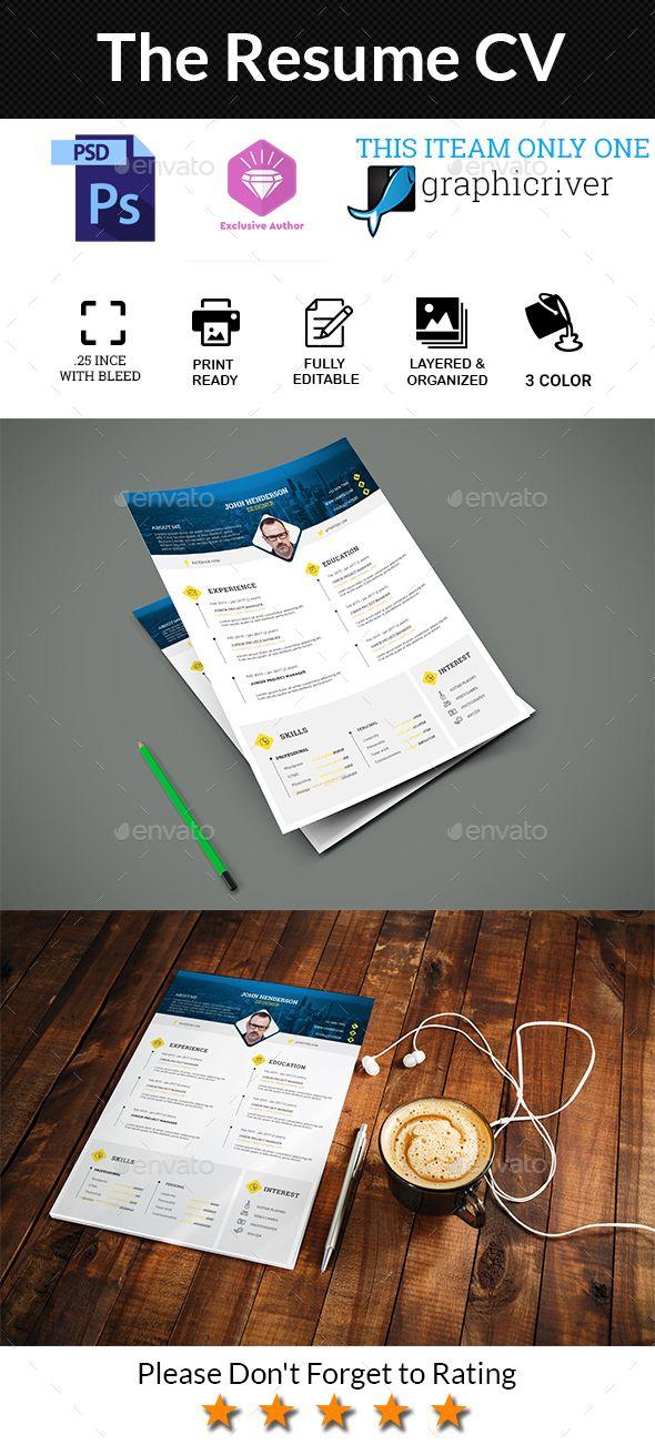 The Resume Cv Resume Templates Pinterest Resume cv, Cv - buy a resume