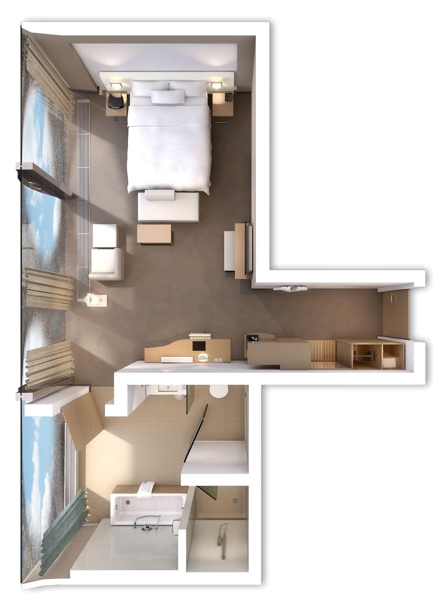 Pin Di A Interior Hotel Plan