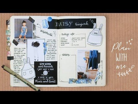 5 Hobby Haken Spread Plan With Me Bullet Journal Nederlands