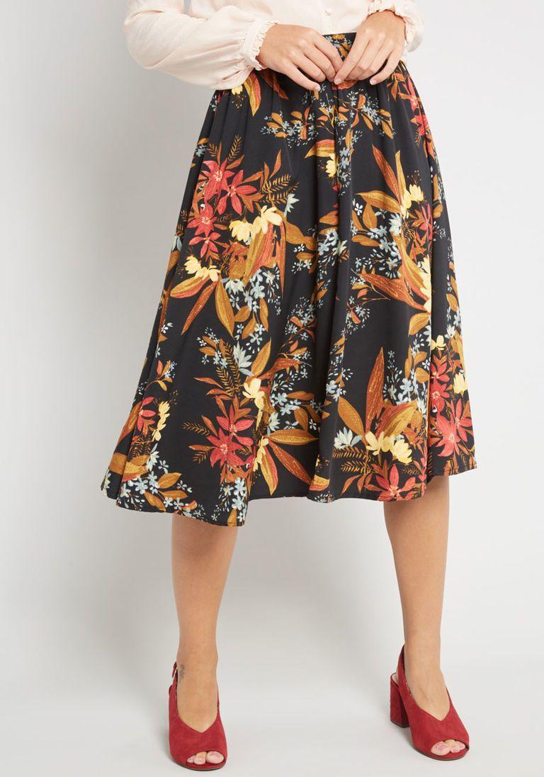 2c2b26da44 Twirl Power Midi Skirt in 4X