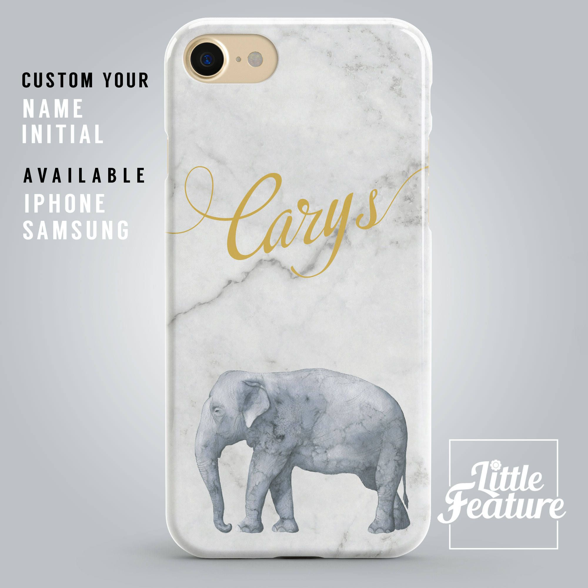 Little Elephant iPhone 6s 6 Clear Case