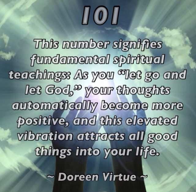 101 - Angel Numbers by Doreen Virtue | Angels prayers