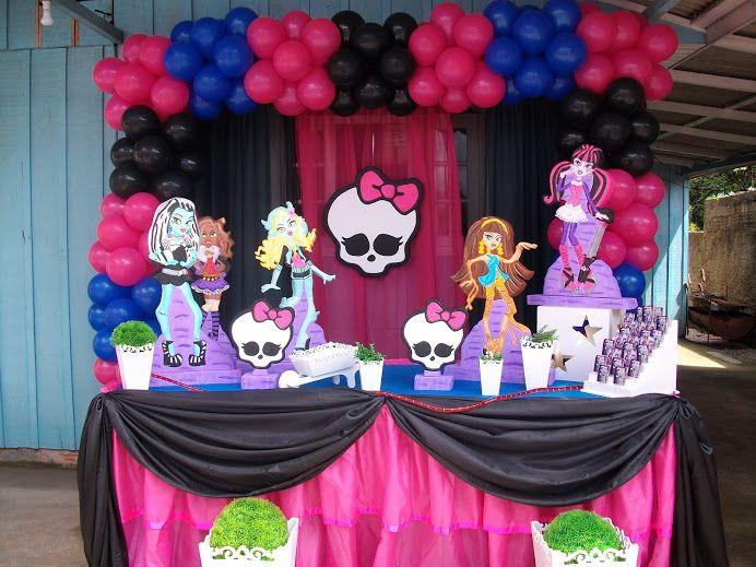 Monster high party ideas Birhday Pinterest Monster high party