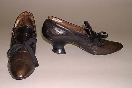 Shoes  Date: 1900–1904   Culture: American   Medium: leather