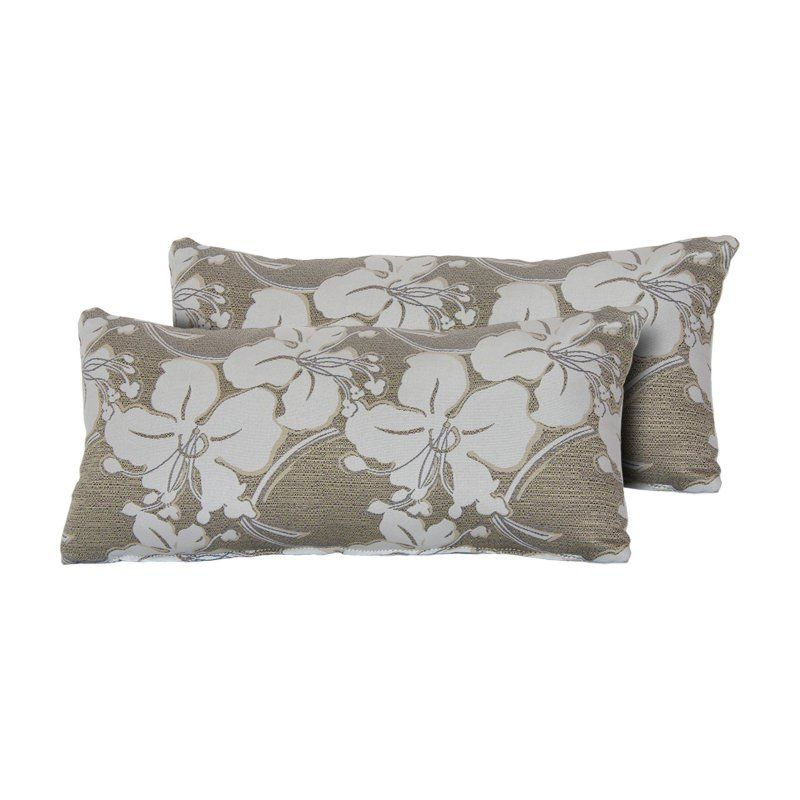 Tk Classics South Beach 22 X 11 In Outdoor Throw Pillow Set Of