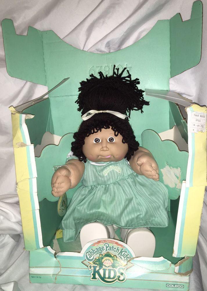 Vtg 1983 1987 Cabbage Patch Kids Doll Brunette Girl New Norbert Cabbagepatchkids Dollswithclothinga Cabbage Patch Kids Dolls Cabbage Patch Kids Brunette Girl
