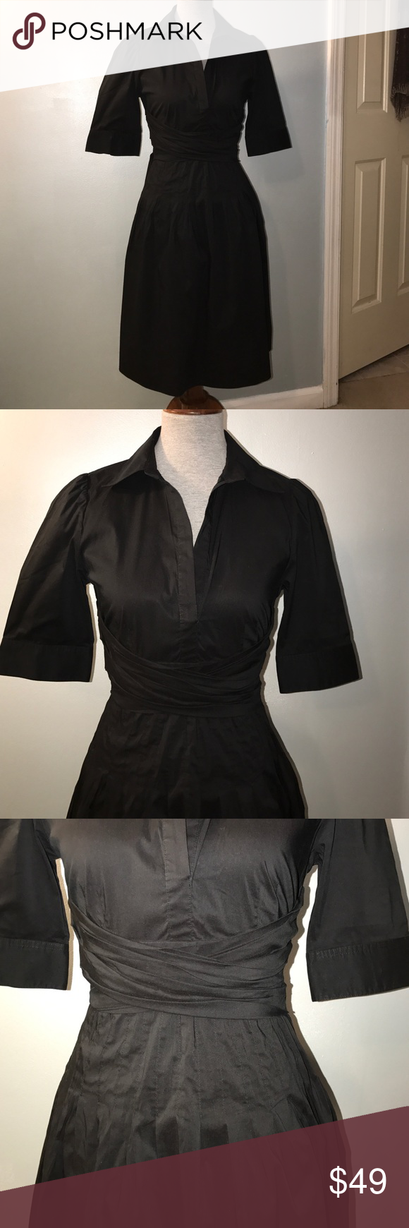 Bcbg black dress my posh picks pinterest bcbg dresses short