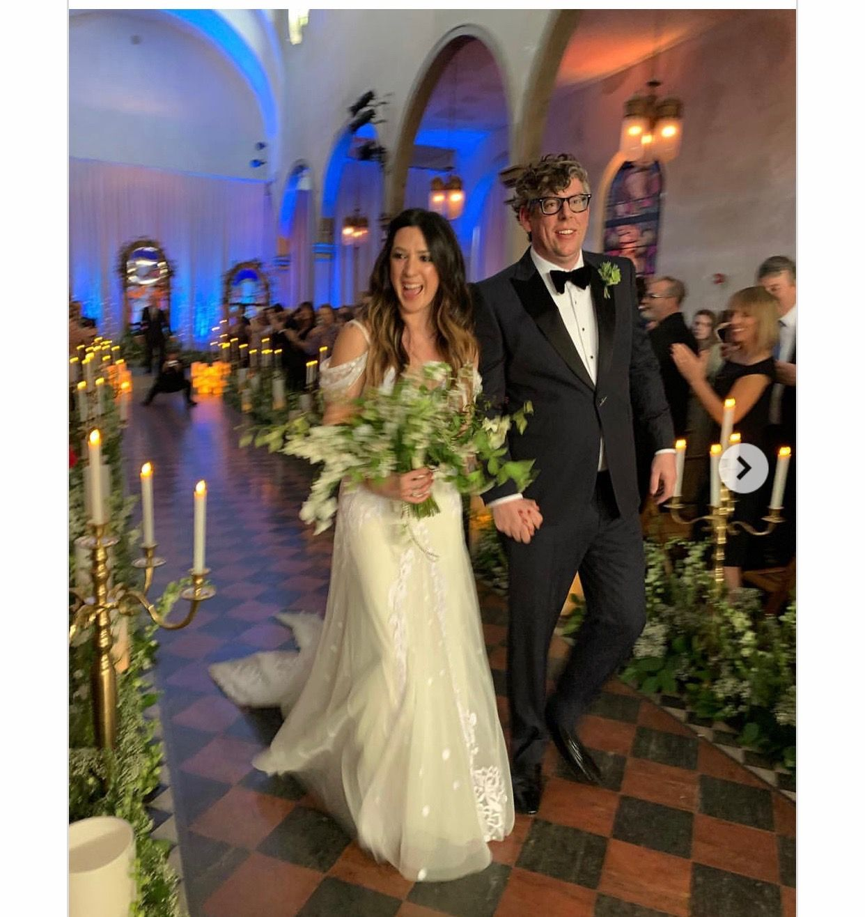 Michelle Branch And Patrick Carney Wedding April 20, 2019
