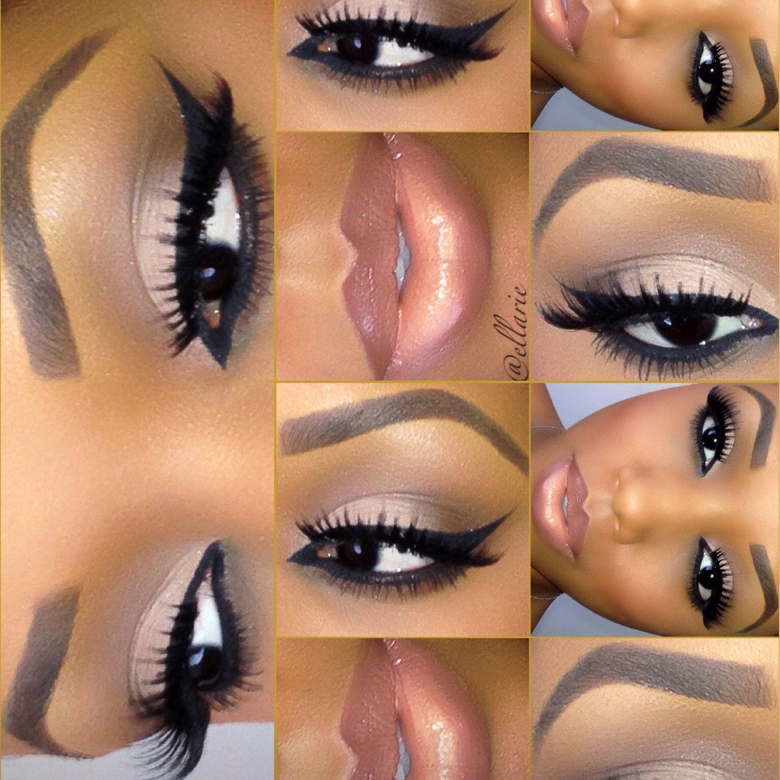 Perfect make up for Black girl   Skin makeup, Eye makeup ...