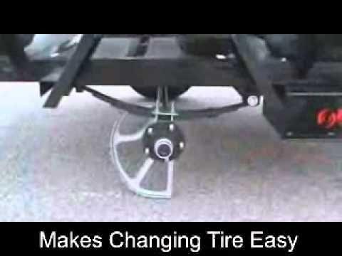 Trailer Axle Jack 1-800-611-4379 - YouTube