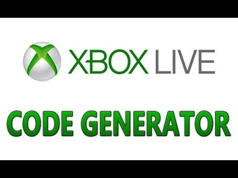 Xbox Live Code Generator the best way works in 2019 | XBOX