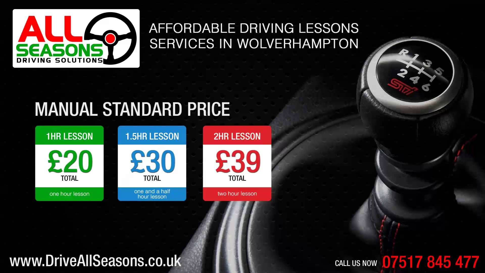 http://driveallseasons.co.uk/ Driving Instructors Wolverhampton