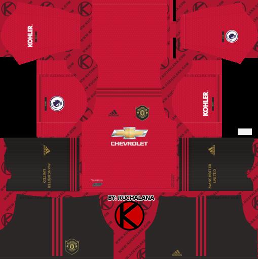 Update Manchester United 2019 2020 Kit Dream League Soccer Kits In 2020 Manchester United Home Kit Soccer Kits Manchester United Third Kit