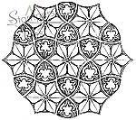 Floral Mosaic Tile
