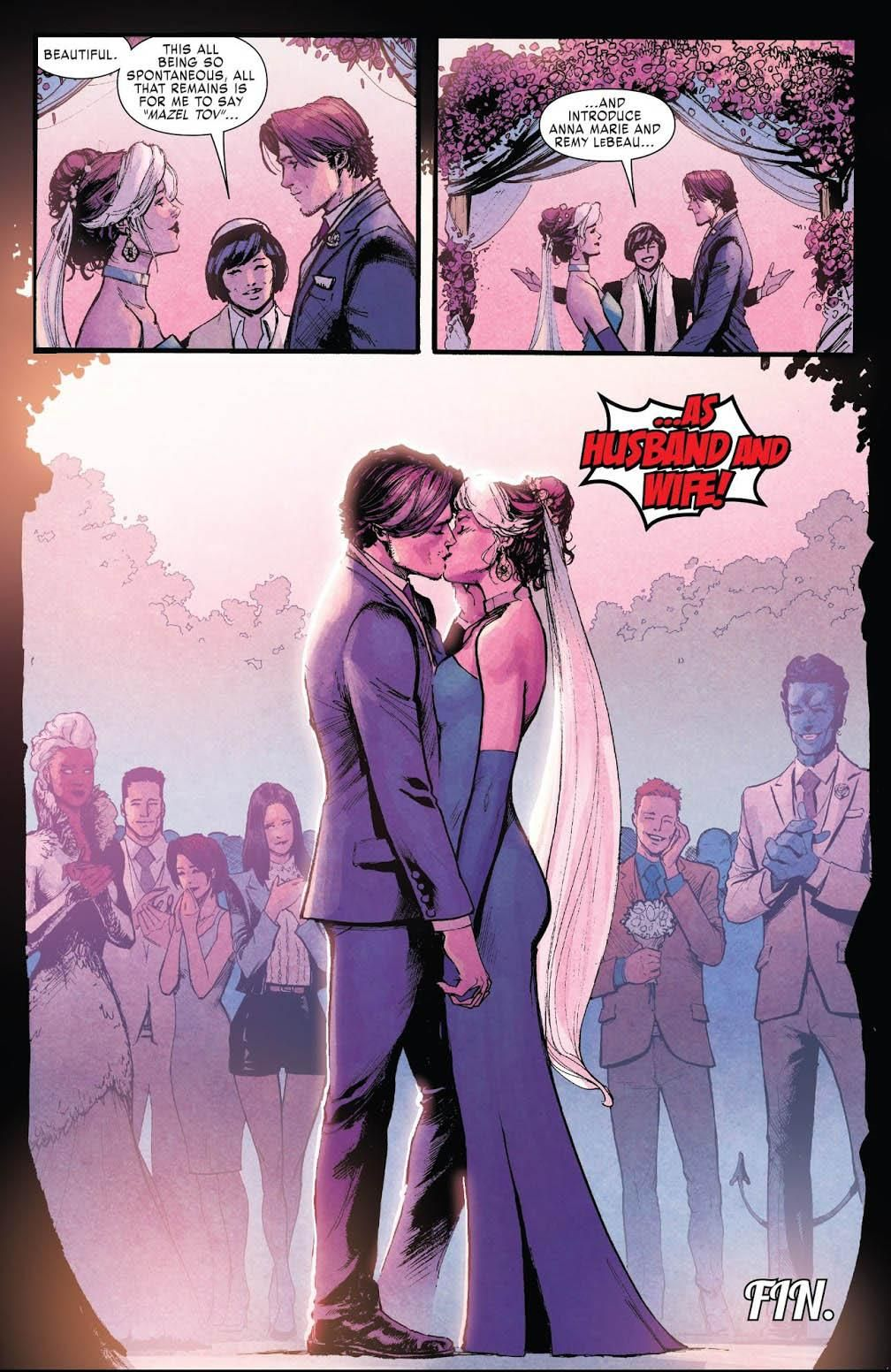 Xmen Gold 30 Ending Your Favorite X Mutant Couple Are Married But Not What You Expected Rogue Gambit Xmen Comics Marvel Comics Superheroes