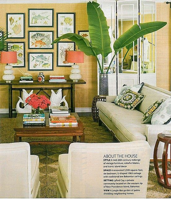 Pin By Danielle Griffing On Living Room Tropical Living Room