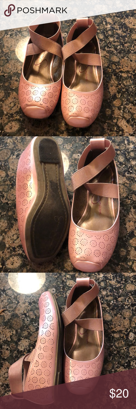 Jessica Simpson girls shoes size 11